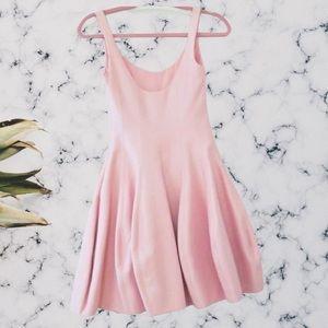 Halston Heritage Baby Pink NWT Tulip Dress